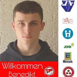 Herzlich willkommen Benedikt Baum!
